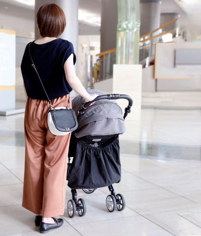 ベビーカーアンダーバッグ ベビーカー用バッグ バギーバッグ 収納バッグ