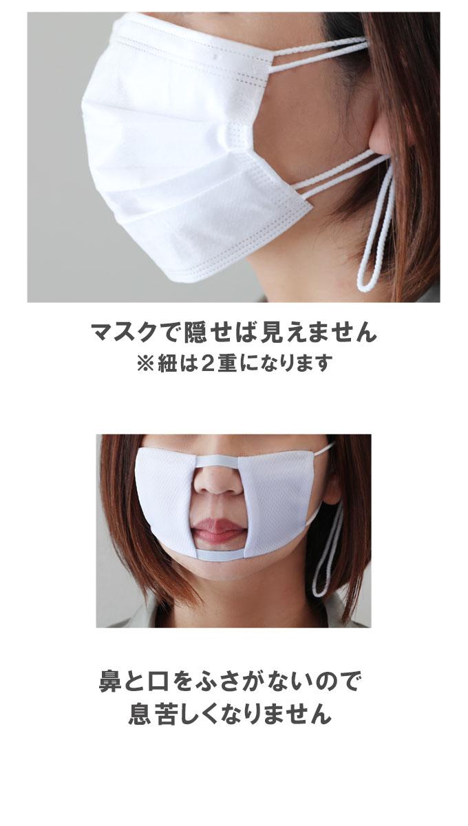 冷やしマスク用インナーマスク 使い方1